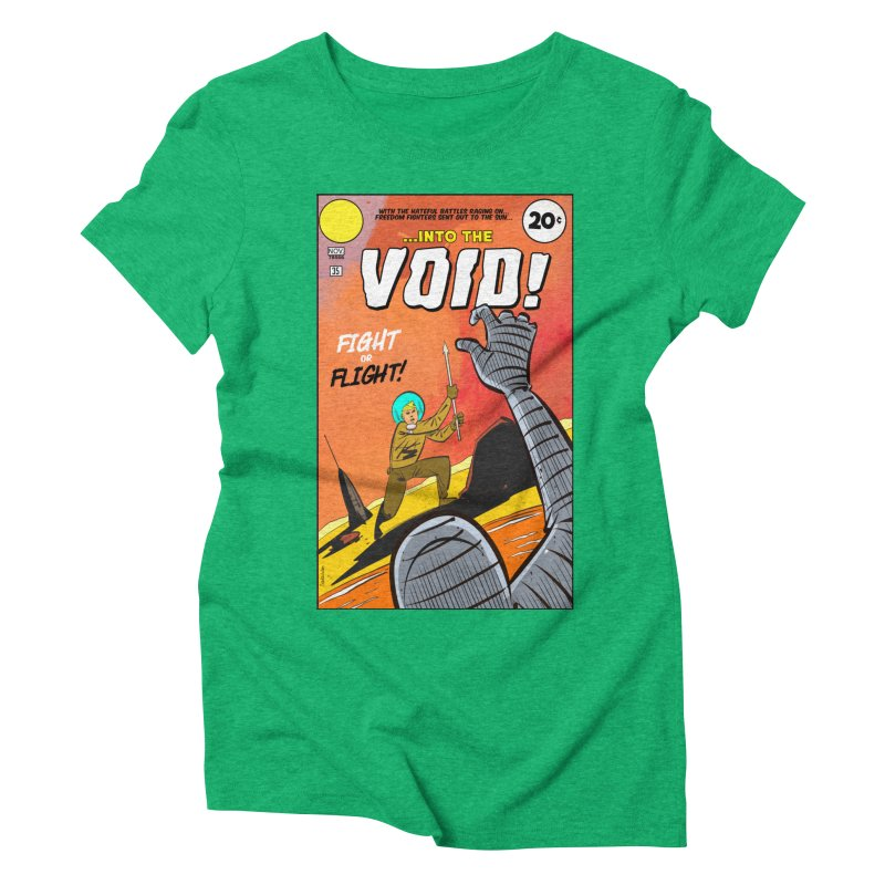 Into the Void Women's Triblend T-Shirt by Krishna Designs