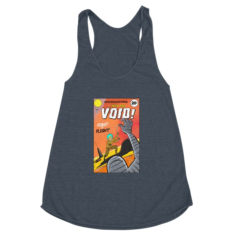 Into the Void Women's Racerback Triblend Tank by Krishna Designs