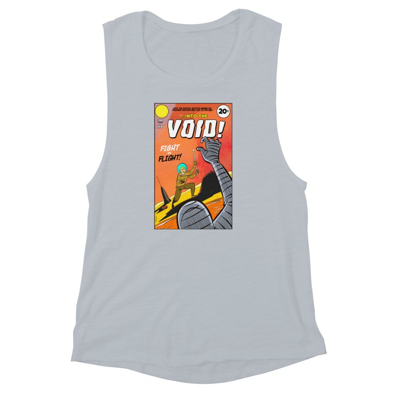 Into the Void Women's Muscle Tank by Krishna Designs
