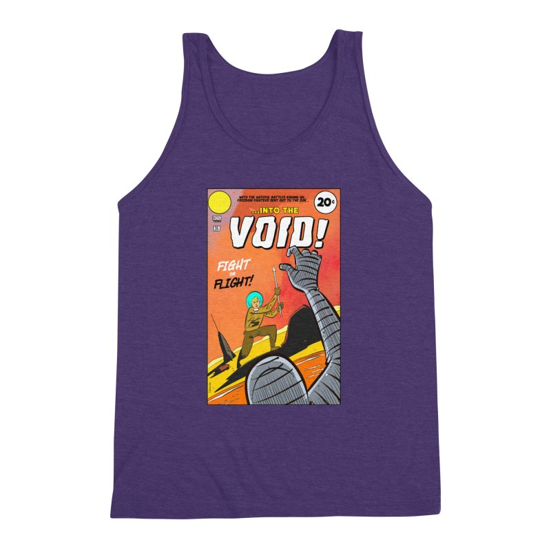 Into the Void Men's Triblend Tank by Krishna Designs