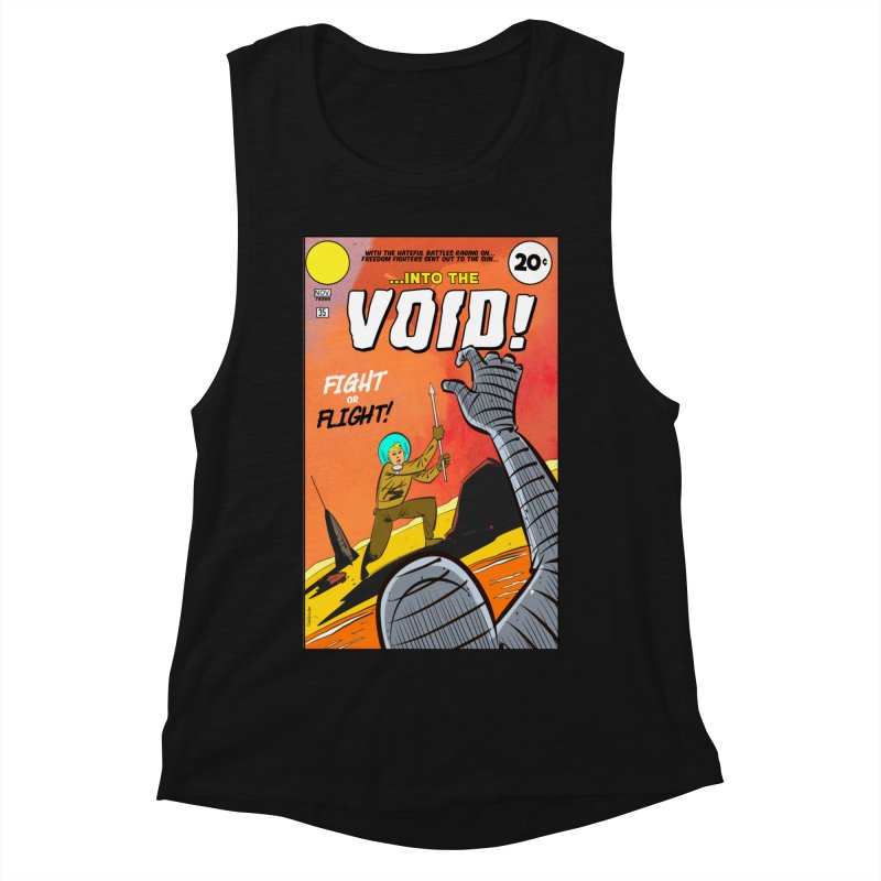 Into the Void Women's Tank by Krishna Designs