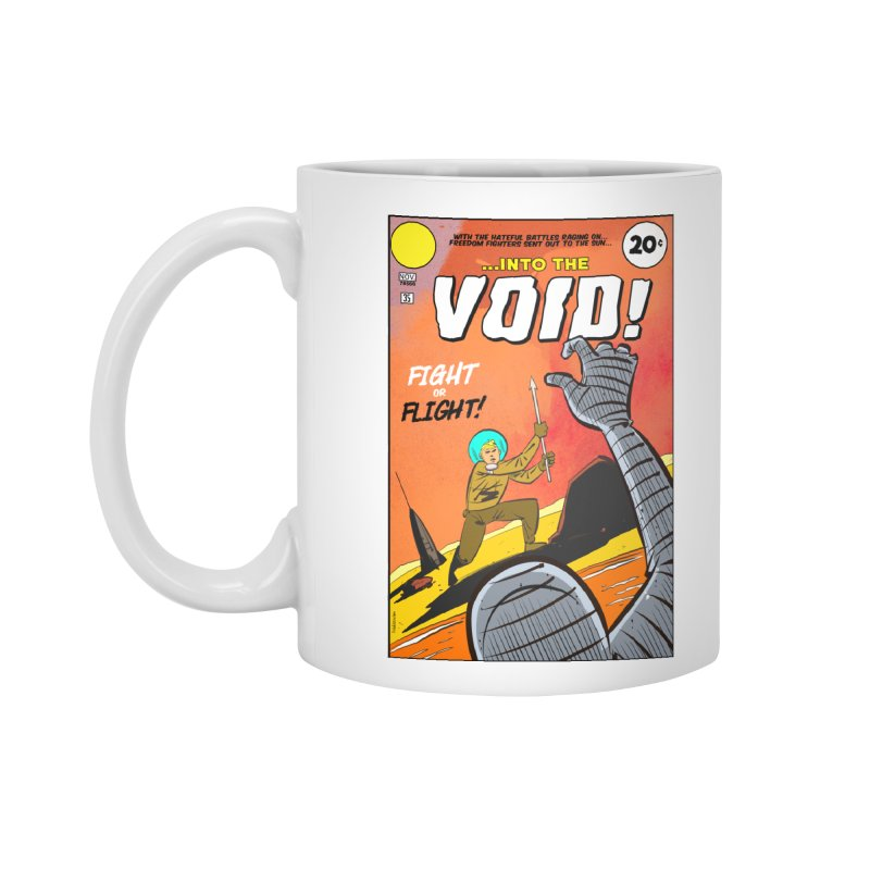 Into the Void Accessories Standard Mug by Krishna Designs