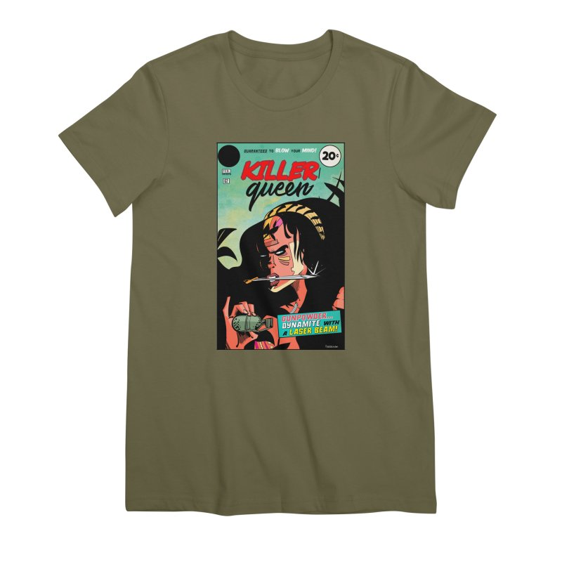 Killer Queen Women's Premium T-Shirt by Krishna Designs