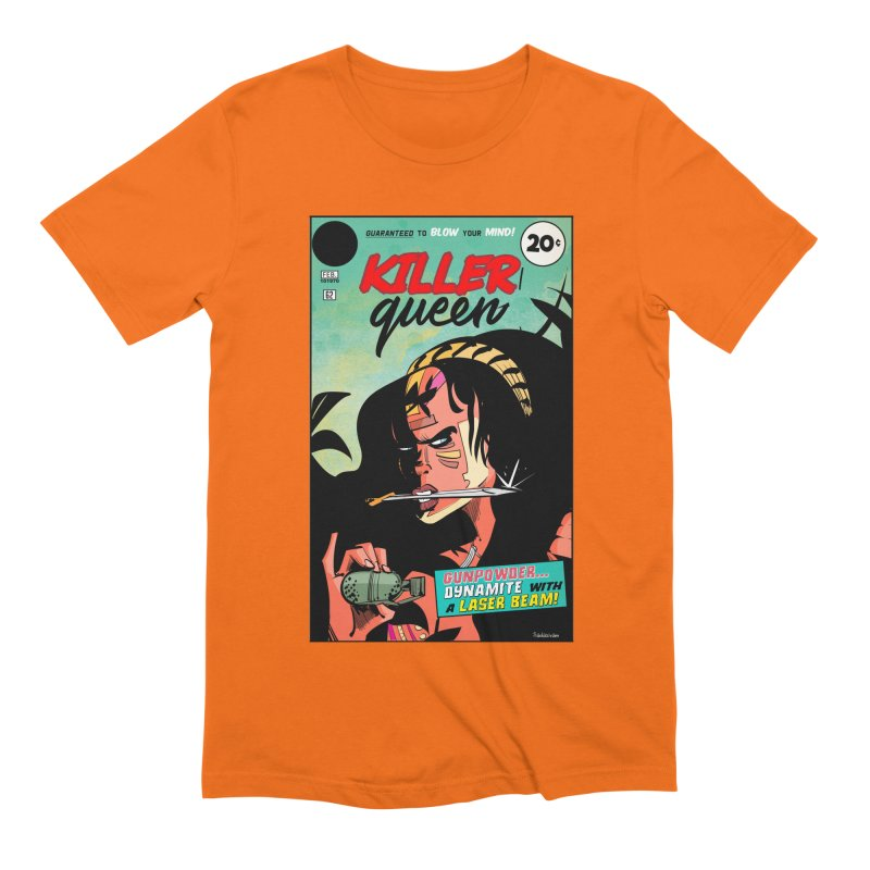 Killer Queen Men's Extra Soft T-Shirt by Krishna Designs