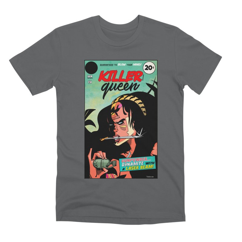 Killer Queen Men's T-Shirt by Krishna Designs