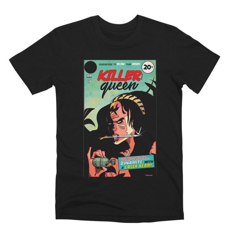Killer Queen Men's T-Shirt by Krishna Designs