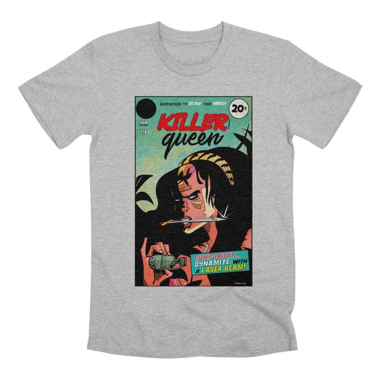 Killer Queen Men's Premium T-Shirt by Krishna Designs