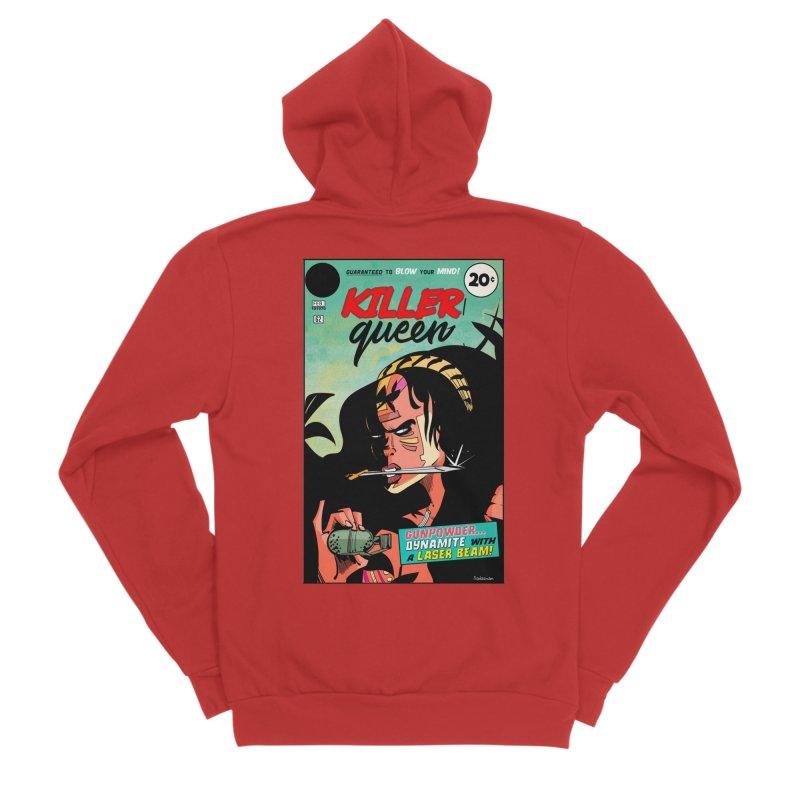 Killer Queen Women's Zip-Up Hoody by Krishna Designs