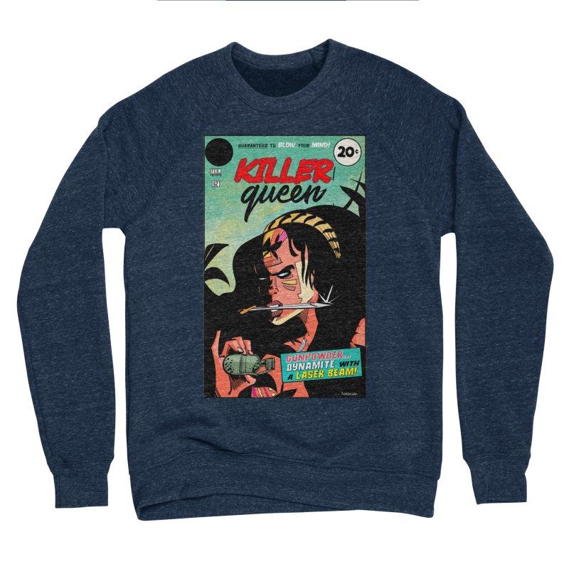 Killer Queen Men's Sponge Fleece Sweatshirt by Krishna Designs