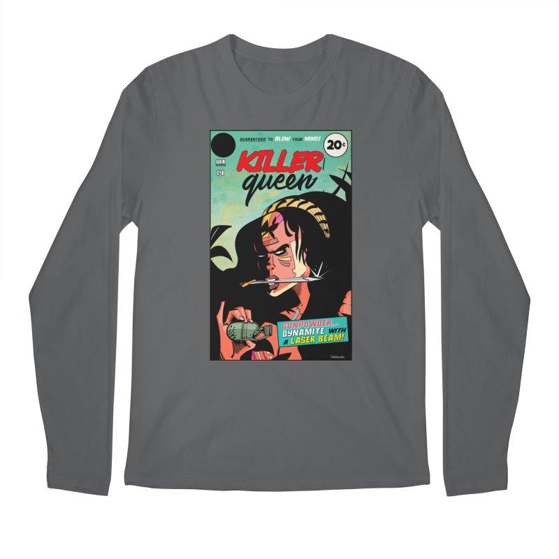 Killer Queen Men's Longsleeve T-Shirt by Krishna Designs