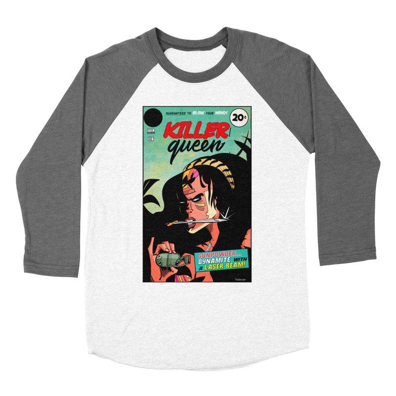 Killer Queen Women's Longsleeve T-Shirt by Krishna Designs