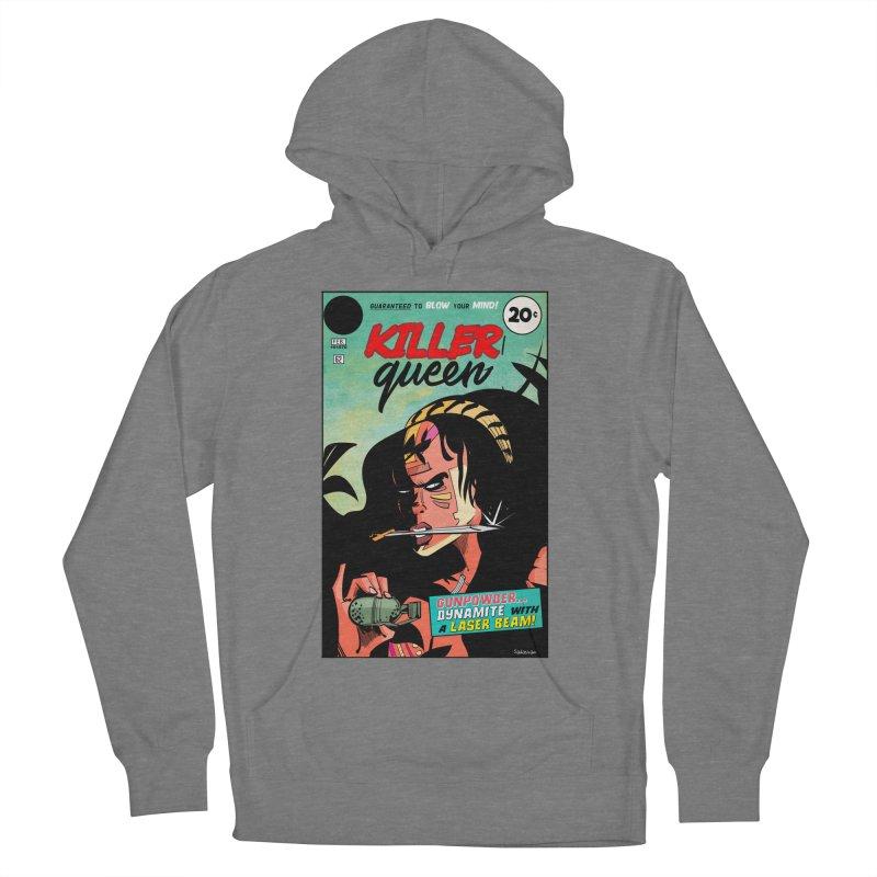 Killer Queen Women's Pullover Hoody by Krishna Designs