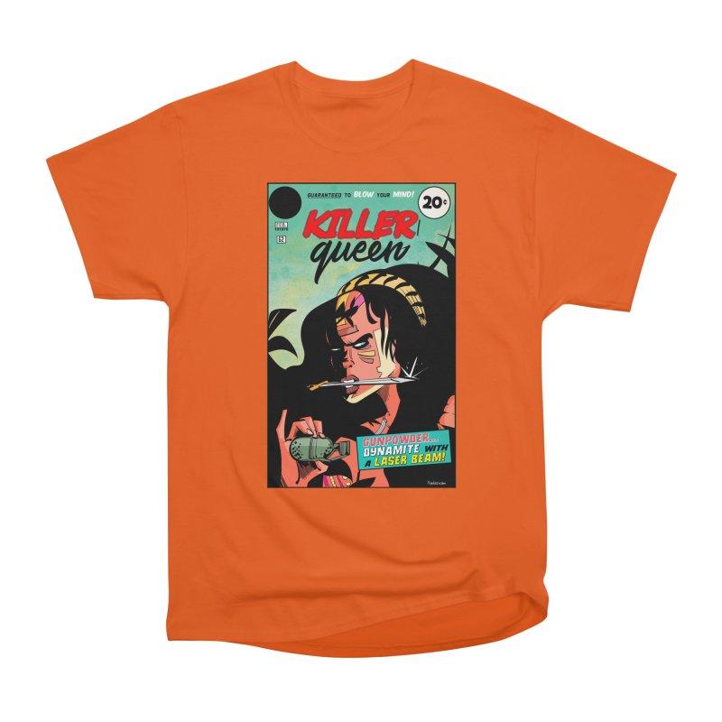 Killer Queen Women's Heavyweight Unisex T-Shirt by Krishna Designs