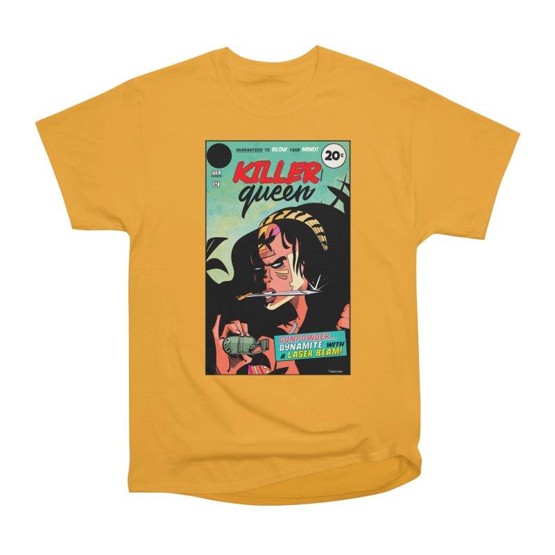 Killer Queen Men's Heavyweight T-Shirt by Krishna Designs