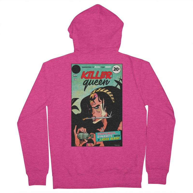 Killer Queen Women's Zip-Up Hoody by Krishna Designs