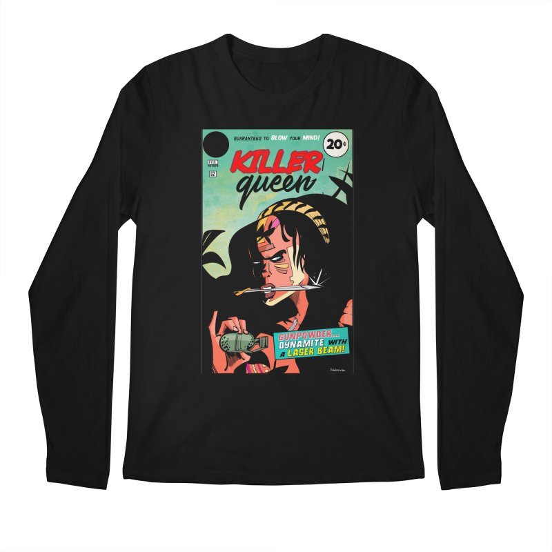 Killer Queen Men's Regular Longsleeve T-Shirt by Krishna Designs