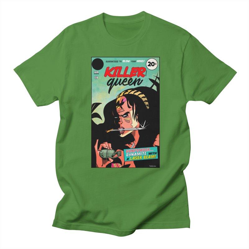 Killer Queen Men's Regular T-Shirt by Krishna Designs