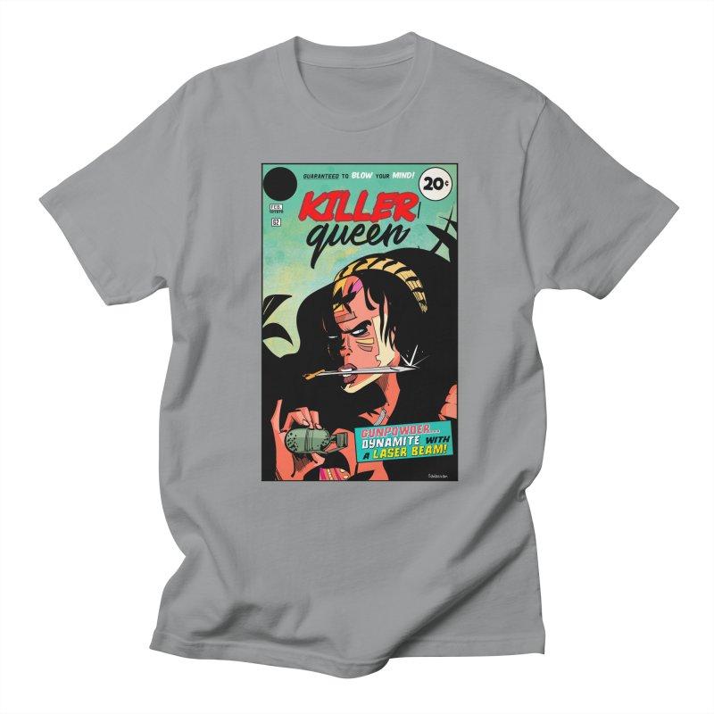 Killer Queen Women's Regular Unisex T-Shirt by Krishna Designs