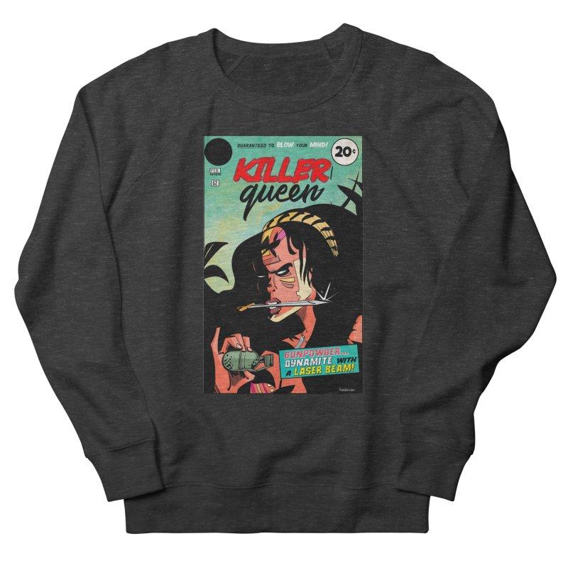 Killer Queen Women's French Terry Sweatshirt by Krishna Designs