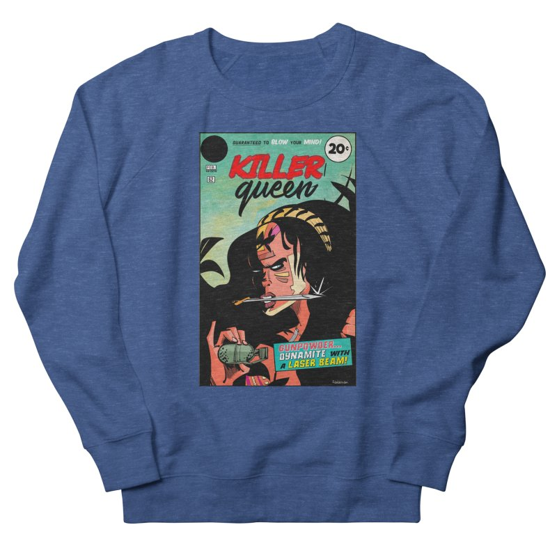 Killer Queen Men's Sweatshirt by Krishna Designs