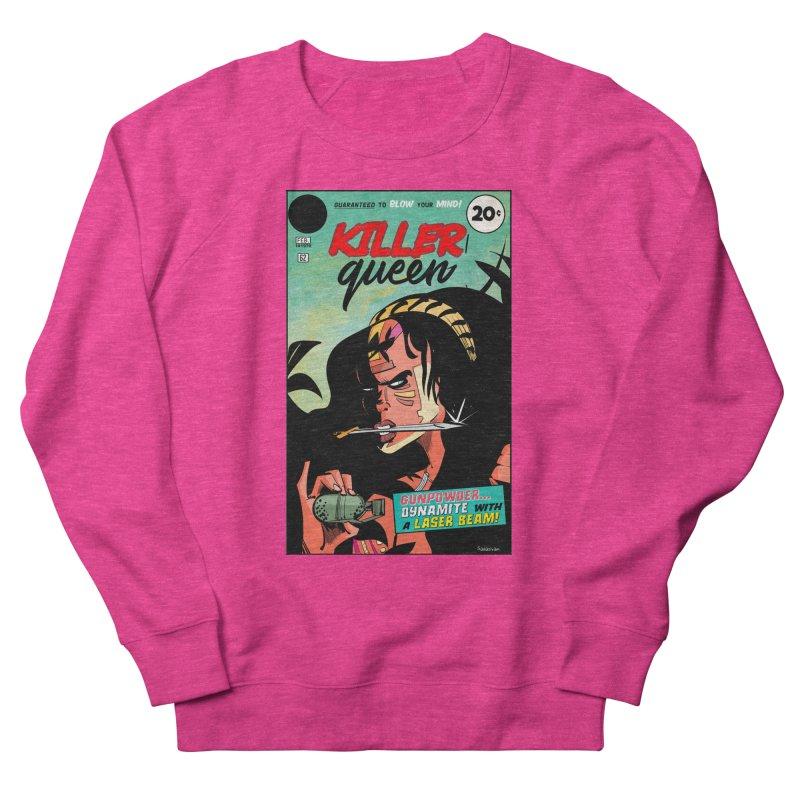 Killer Queen Men's Sweatshirt by Krishna Designs