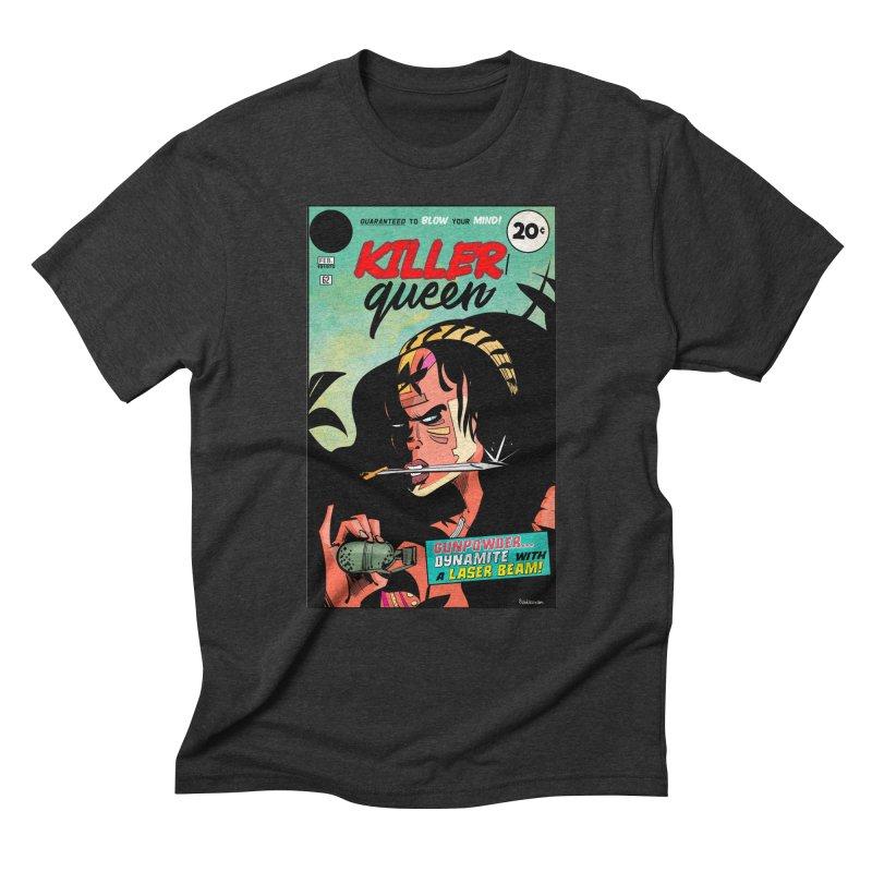 Killer Queen Men's Triblend T-Shirt by Krishna Designs