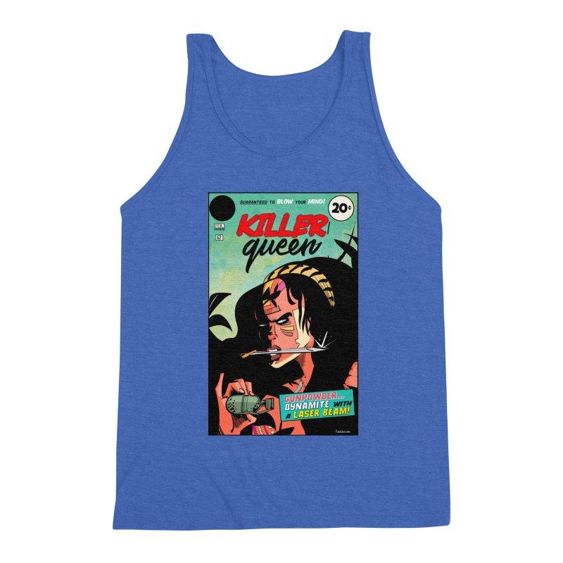 Killer Queen Men's Triblend Tank by Krishna Designs