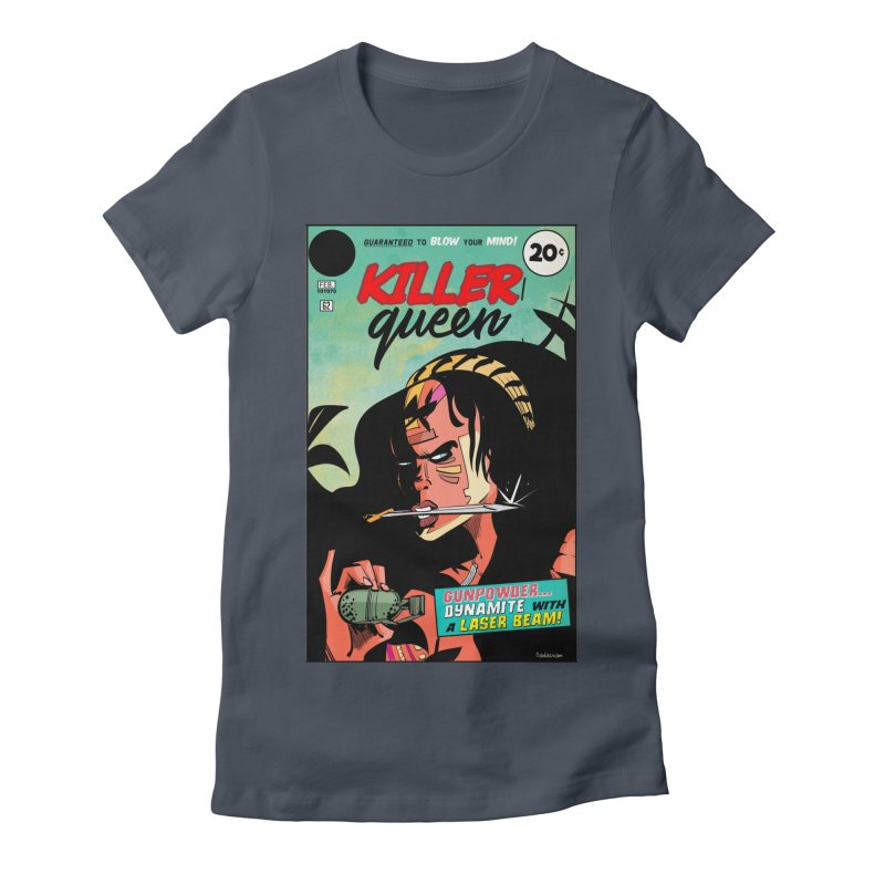 Killer Queen Women's T-Shirt by Krishna Designs