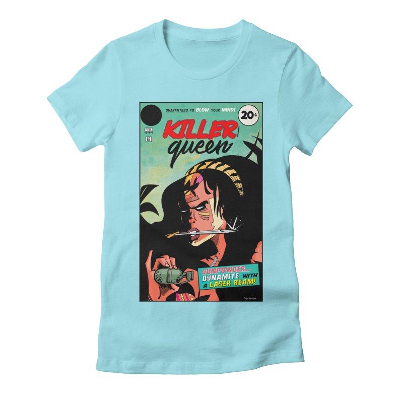 Killer Queen Women's T-Shirt by Krishna Designs
