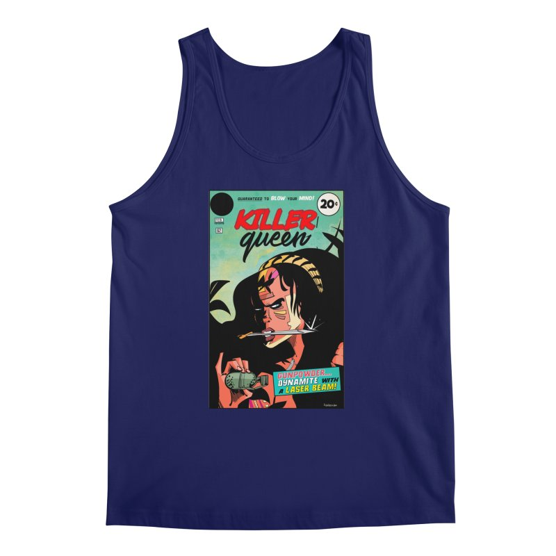 Killer Queen Men's Regular Tank by Krishna Designs