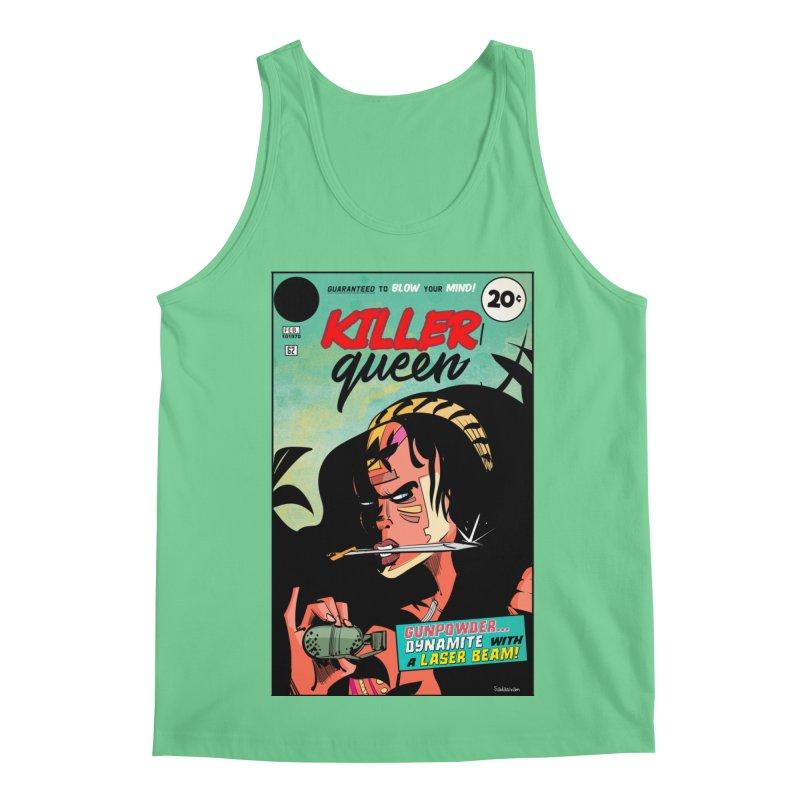 Killer Queen Men's Regular Tank by Krishna Designs