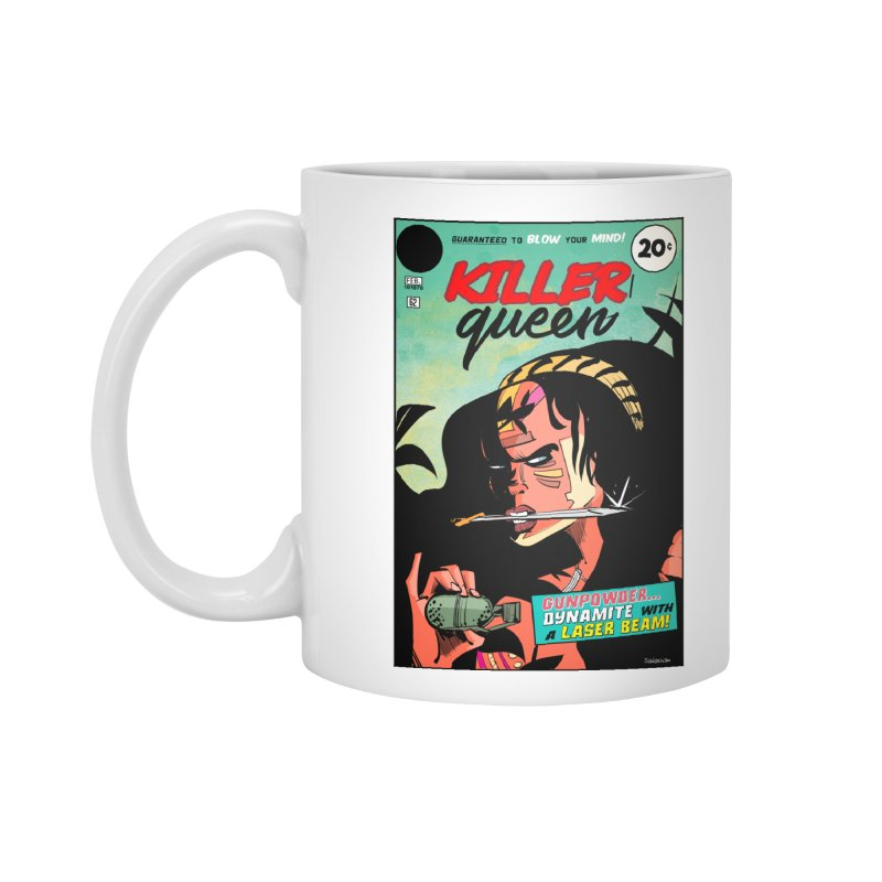 Killer Queen Accessories Standard Mug by Krishna Designs