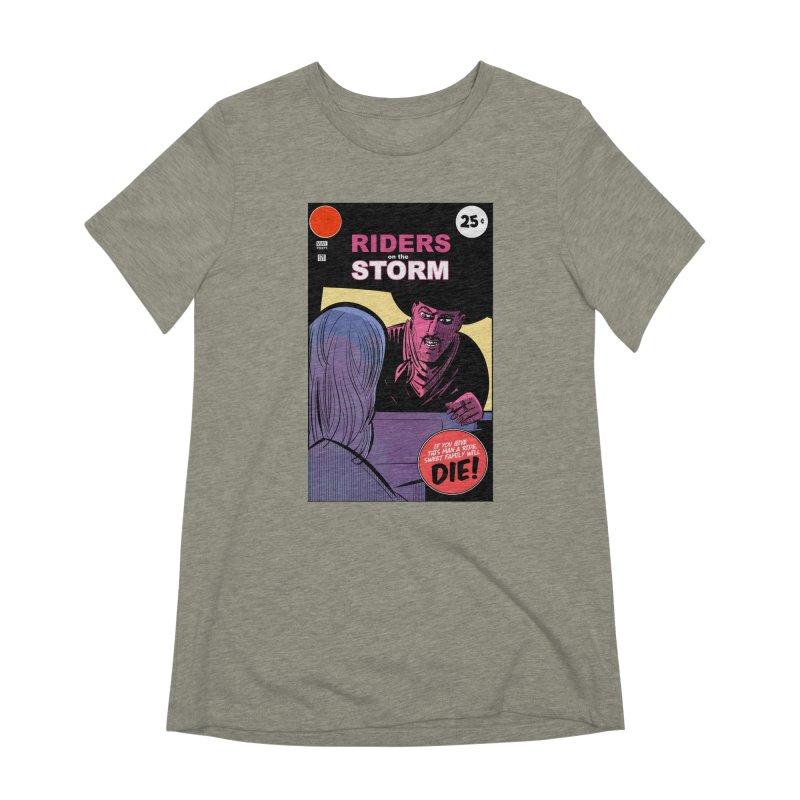 Storm Riders Women's Extra Soft T-Shirt by Krishna Designs