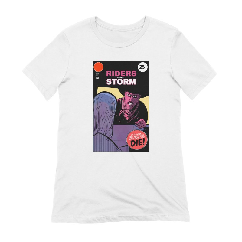 Storm Riders Women's Extra Soft T-Shirt by Krishna Designs