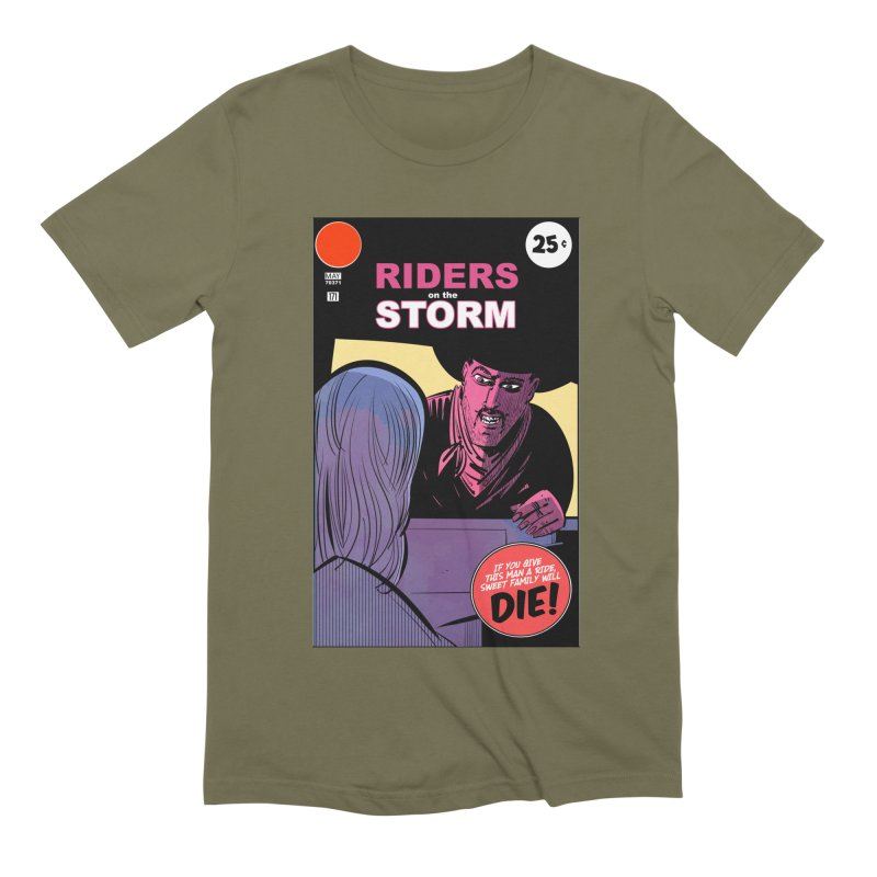 Storm Riders Men's Extra Soft T-Shirt by Krishna Designs
