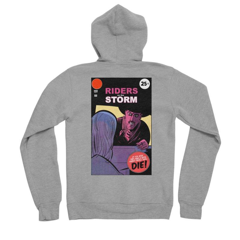 Storm Riders Men's Sponge Fleece Zip-Up Hoody by Krishna Designs
