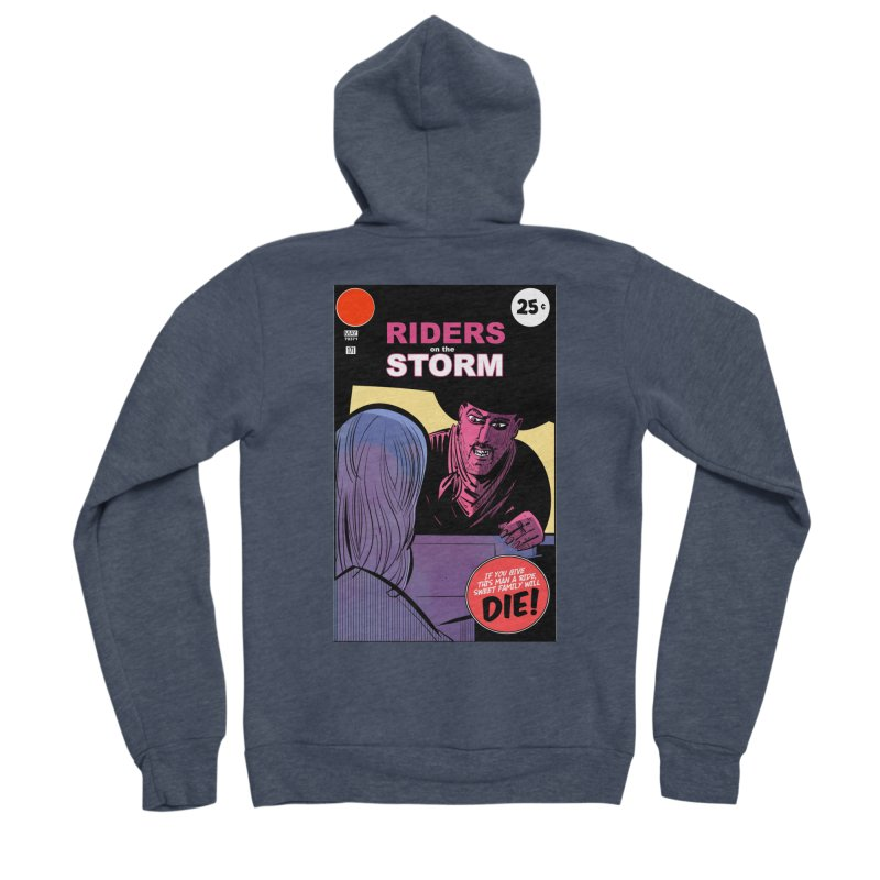 Storm Riders Men's Sponge Fleece Zip-Up Hoody by Krishna Designs