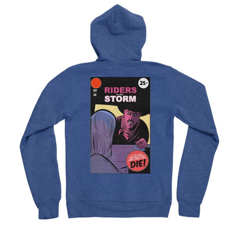 Storm Riders Women's Sponge Fleece Zip-Up Hoody by Krishna Designs