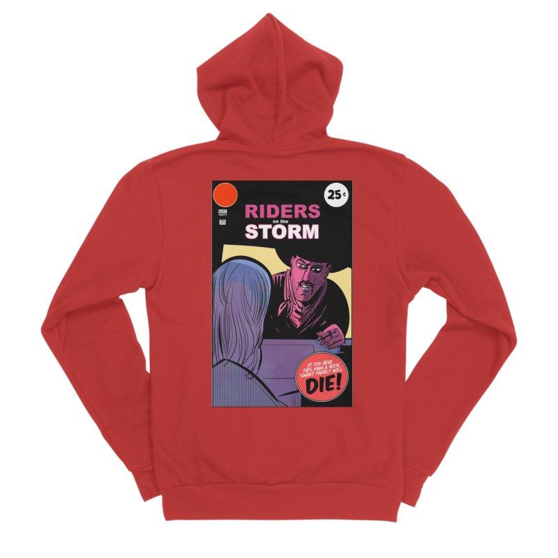Storm Riders Men's Zip-Up Hoody by Krishna Designs