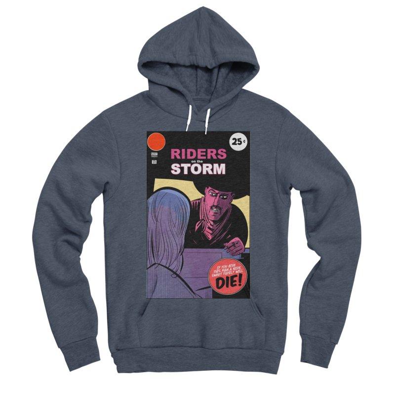 Storm Riders Men's Sponge Fleece Pullover Hoody by Krishna Designs