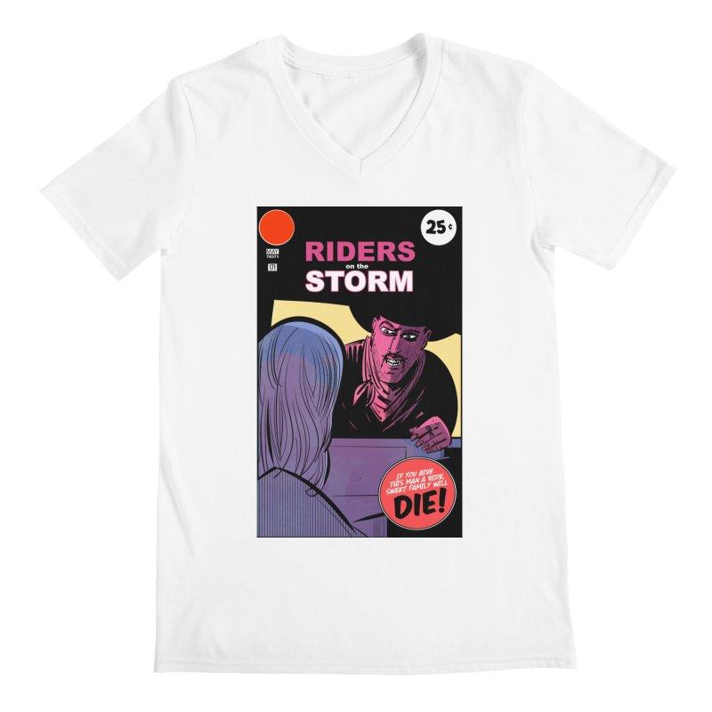Storm Riders Men's V-Neck by Krishna Designs