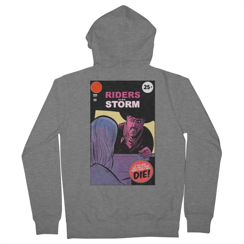 Storm Riders Men's French Terry Zip-Up Hoody by Krishna Designs