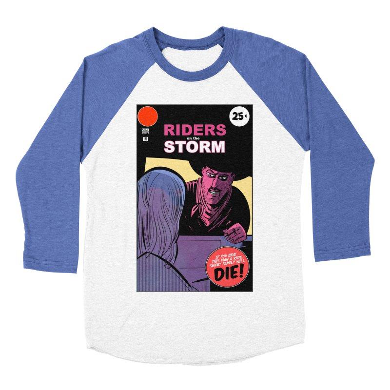 Storm Riders Women's Baseball Triblend Longsleeve T-Shirt by Krishna Designs