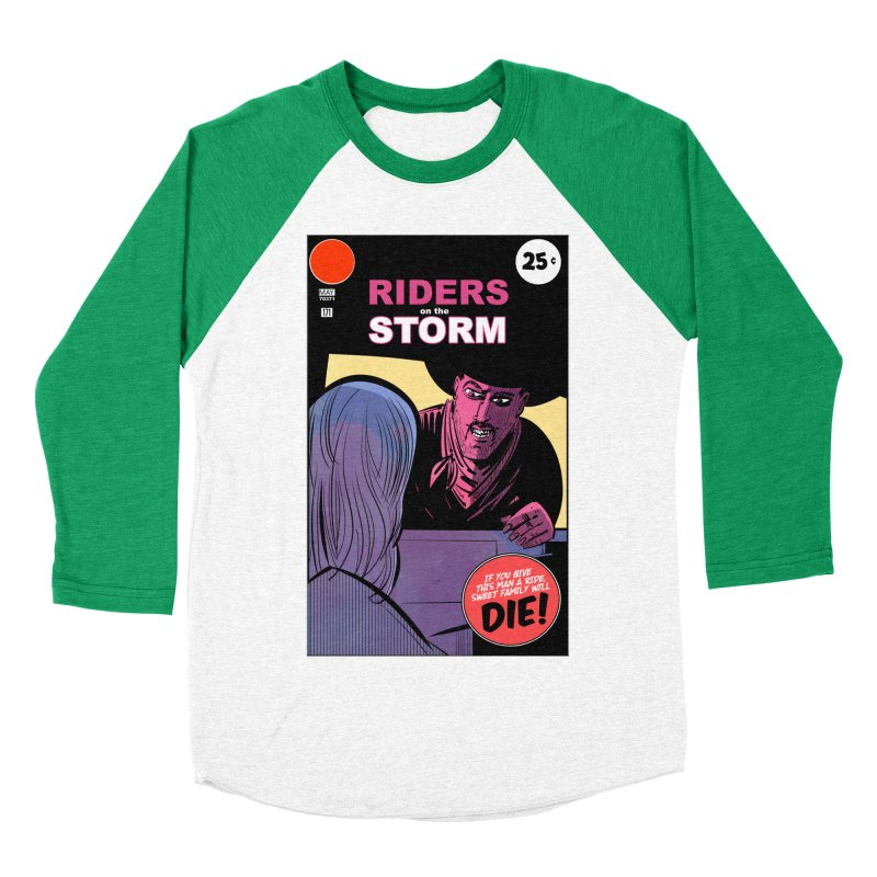 Storm Riders Men's Baseball Triblend Longsleeve T-Shirt by Krishna Designs