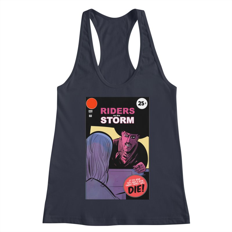 Storm Riders Women's Racerback Tank by Krishna Designs