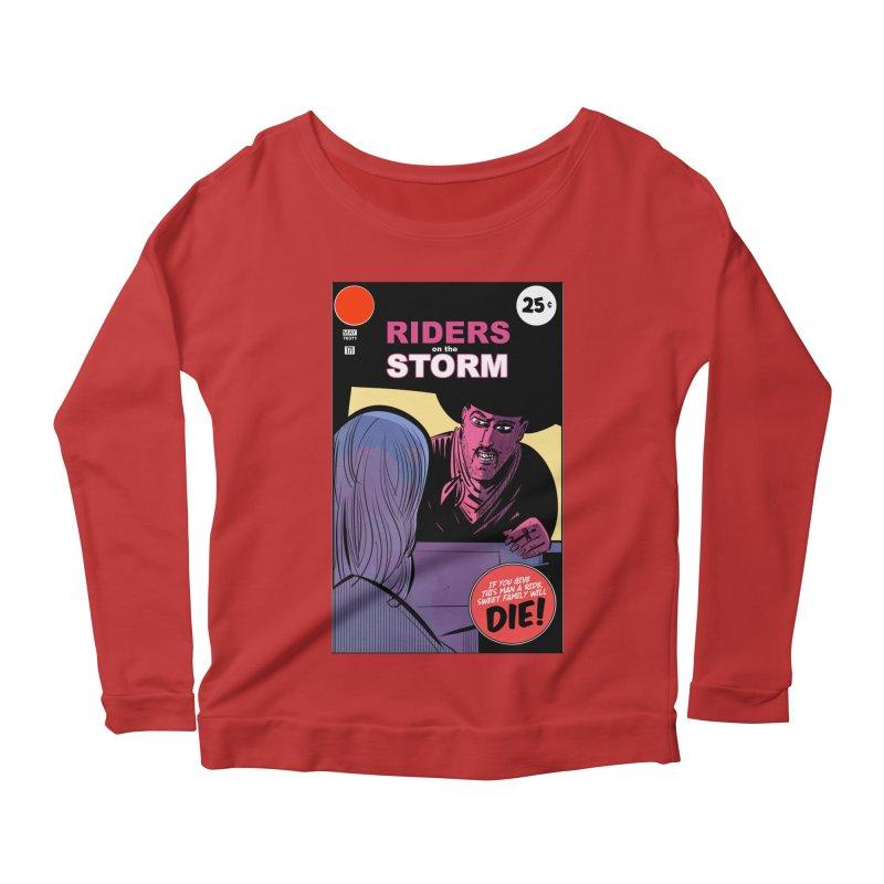 Storm Riders Women's Scoop Neck Longsleeve T-Shirt by Krishna Designs