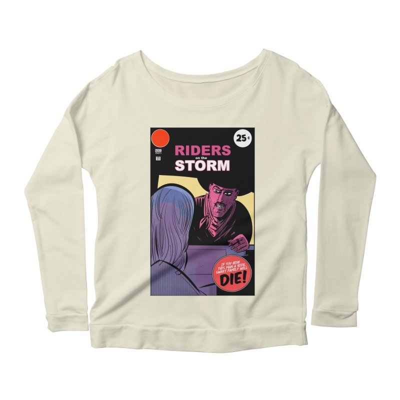 Storm Riders Women's Scoop Neck Longsleeve T-Shirt by Krishna Designs