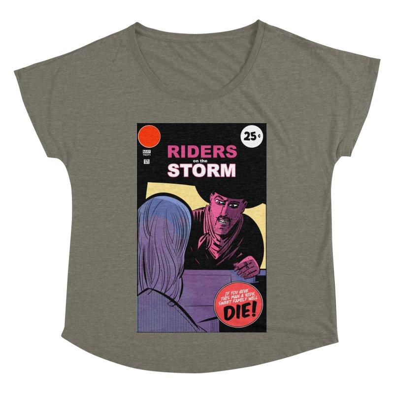 Storm Riders Women's Scoop Neck by Krishna Designs