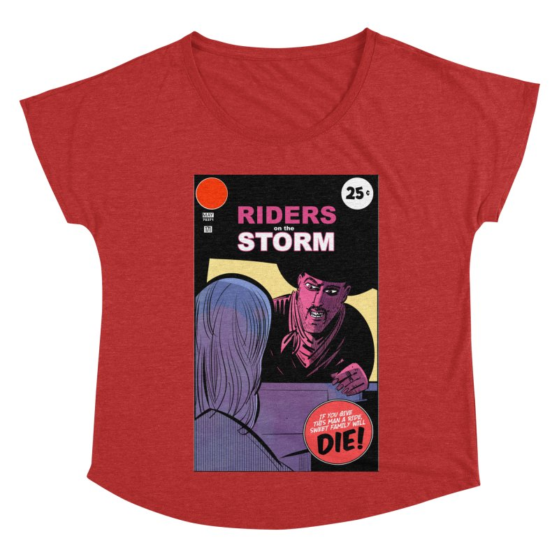 Storm Riders Women's Dolman Scoop Neck by Krishna Designs