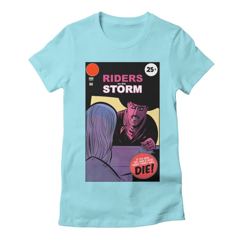 Storm Riders Women's Fitted T-Shirt by Krishna Designs
